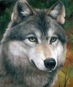動物肖像畫